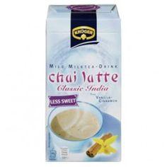 Krüger Chai Latte Classic India Chai latte s příchutí vanilky a skořice, méně cukru, 250g