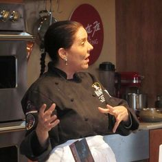 So grateful to have talent like that of Lois Ellen Frank, renowned Native American chef, teaching at the School!