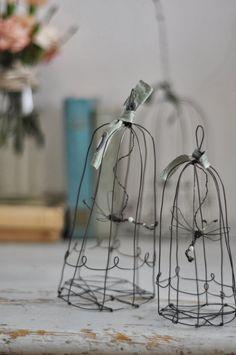 le bianche margherite fil de fer wire