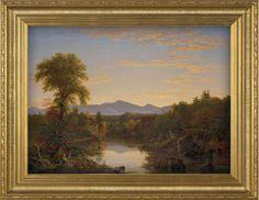 Catskill Creek, N.Y. (1845) by Thomas Cole
