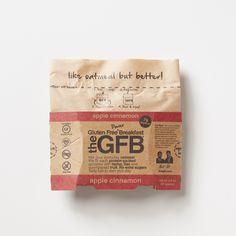Power Breakfast: Apple Cinnamon  Simple, non-GMO ingredients: certified gluten-free oats, chopped dates (dates, rice flour), dried apples, raw hemp seed hearts, toasted sunflower seeds (sunflower kernels, salt, canola oil), golden flaxseed, cinnamon, sea salt.