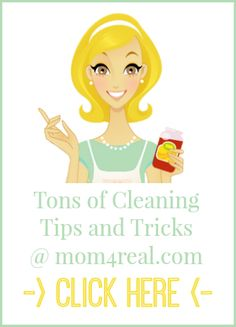Mom 4 Real - Page 5 of 35 - Budget friendly cleaning tricks, organizing tips, DIY, home decor and craft ideas!