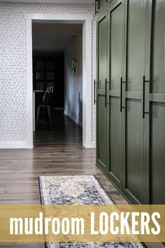 Building DIY mudroom storage lockers with doors is a great way to add more built in storage to your home. Love the modern farmhouse style of these! #lockers #farmhouse #buildin #storageideas Modern Farmhouse Style, Mudroom, Mdf Cabinets, Locker Storage, Woodworking Projects Diy, Mud Room Storage, Room Remodeling, Built In Storage, Modern