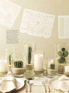 chic succulent tablescape, succulent centerpiece