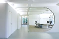 ADA 1 - Office Complex An der Alster 1, Hamburg. German. Futuristic Interior Design, Future Building