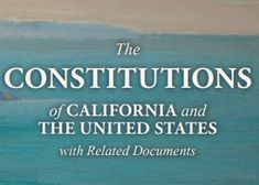 The Constitutions of California & the United States of America [in PDF] California Usa, Constitution, United States, Pdf, The Unit, America, Bill Of Rights, Usa