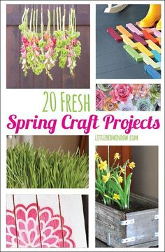 spring crafts for seniors 53
