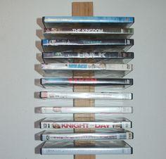 Home-Dzine - How to make a DVD storage rack