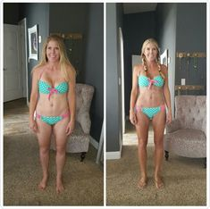 After having baby #4 I was stuck 12 pounds over where I wanted to be with cellulite on both my arms and legs.  I am back to my pre baby weight. The cellulite is gone and I have arm and stomach definition emerging that has never been there before.I am craving healthier choices for food. It feels amazing to put my bikini on and feel confident and strong and have no desire to cover up.