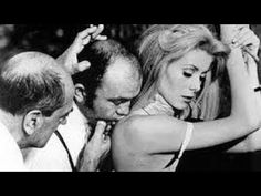 "my-secret-eye: Director Luis Bunuel, Michel Charrel and Catherine Deneuve for a Scene during the production of ""Belle de Jour"", 1967 Catherine Deneuve, Jean Sorel, I Movie, Movie Stars, Movie Scene, Carol Reed, Luis Bunuel, Gena Rowlands, Fritz Lang"