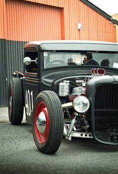 Old school style hot rod