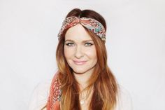 Yes, there are many ways to tie a scarf around your neck but here are also a variety of ways you can rock one in your hair. Try these tutorials!