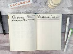Christmas Bullet Journal | Page Two