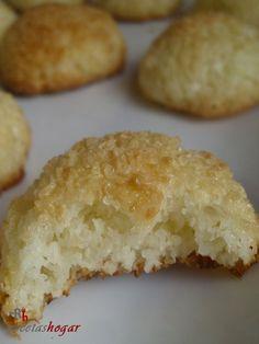 Coquitos caseros - Receta de cocina casera Gordon Ramsay, Sin Gluten, Muffin, Food And Drink, Cooking Recipes, Pie, Cupcakes, Bread, Cookies