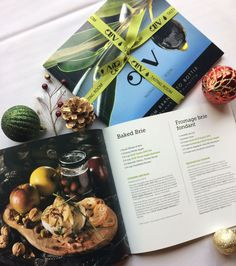 Looking for some creative recipe inspiration for the holidays? Pick up an #OLiVCookbook at any of our locations or online!  #recipe #creative #food #appetizer #dinner #eat #christmas #idea #foodie #cook #chef #evoo #balsamic #olivtastingroom #gift