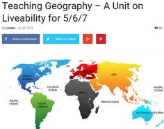 Many Geography units for all stages
