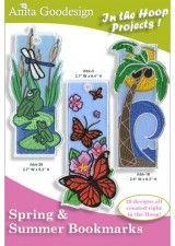 Anita Goodesign | Spring and Summer Bookmarks - Anita Goodesign