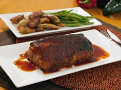 Grilled Pork Loin with Coca-Cola® BBQ Sauce