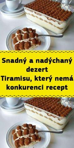 Tiramisu, Cereal, Breakfast, Food, Morning Coffee, Essen, Meals, Tiramisu Cake, Yemek