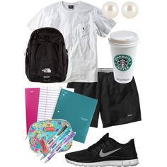 """""""Studying All Day"""" by alexkay98 on Polyvore cheap nike free 5.0 only $49, save up to 63% off"""