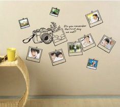 Photo Frame Wall Stickers Decal art Mural Decor Paper: Amazon.co.uk: Kitchen & Home