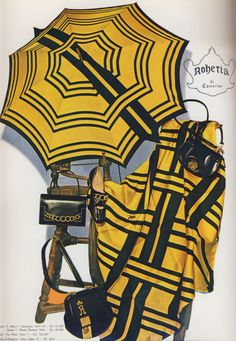 From Calzature Italiane di Lusso # 15/1 - 1968 Shoe Advertising, Retro Shoes, Stripes Fashion, Manolo Blahnik, Vintage Accessories, Color Splash, Vintage Fashion, Yellow, How To Wear