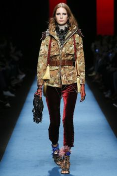 Dsquared2 Fall 2016 Ready-to-Wear Collection Photos - Vogue