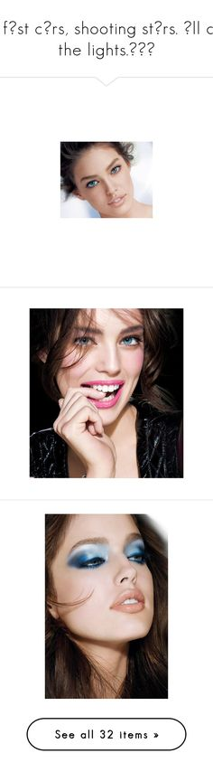 """• fɑst cɑrs, shooting stɑrs. ɑll of the lights.╰☆╮"" by cupcakekisses99 ❤ liked on Polyvore featuring emily didonato, models, people, faces, females, emily, fotos, makeup, photos and swimwear"