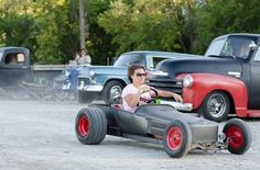 wheelbarrow go-kart rat rods - Google Search