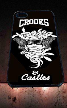 Crooks Castles for iPhone 4/4s, iPhone 5/5S/5C/6, Samsung S3/S4/S5 Unique Case *76* - PHONECASELOVE
