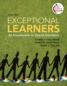 Bestseller books online Exceptional Learners: An Introduction to Special Education (12th Edition) Daniel P. Hallahan, James M. Kauffman, Paige C. Pullen  http://www.ebooknetworking.net/books_detail-0137033702.html