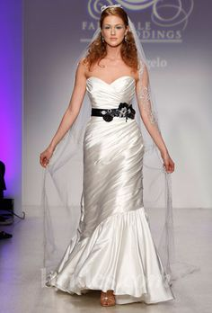 alfred angelo disney wedding dress fall 2013 veil