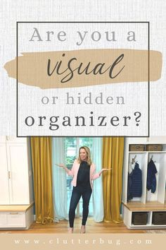 Are you a visual or hidden organizer? Learn your organizing style in minutes with my free quiz! #clutterbug #organization #getorganized #free