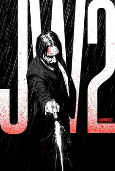 """John Wick Chapter 2 movie poster artwork for the 2017 Keanu Reeves movie """"John Wick Baba Yaga, John Wick Movie, Badass Movie, Kunst Poster, Keys Art, Alternative Movie Posters, Movie Poster Art, Illustrations And Posters, Power Rangers"""