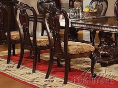 ACME Anondale Side Chair Cherry Finish Set Of 2 By 37788