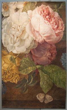 "Presentation of Pascal Amblard's work and of his book ""Demeures peintes""."