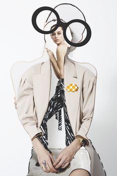 """查看此 @Behance 项目:""""Abstract Portraits Editorial for One Magazine NY""""https://www.behance.net/gallery/38297799/Abstract-Portraits-Editorial-for-One-Magazine-NY"""