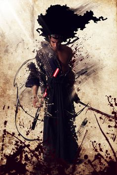Samurai Art | afro samurai by koun san digital art photomanipulation people 2010 ...