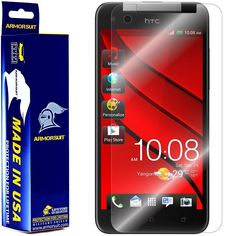 ArmorSuit MilitaryShield - HTC Butterfly Screen Protector Shield Ultra Clear   Lifetime Replacements ** Check this awesome product by going to the link at the image.