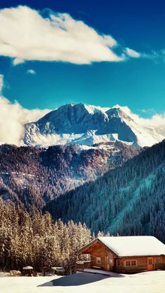 Tirol Winter Season iPhone wallpapers. Want to live there? Tap to see more iPhone Wallpapers, lockscreen backgrounds, fondos of Winter Snow Seasons Nature Landscape! - @mobile9