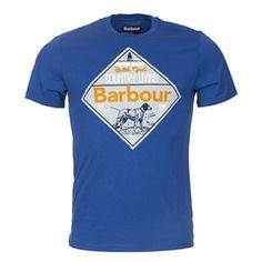 New for 2016 Barbour Gundog T-Shirt - Oxbridge Blue Barbour Mens, Barbour International, Heritage Brands, Fashion Forward, Suits, Tees, T Shirt, Blue, In Trend