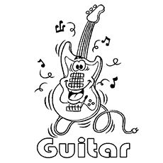 Top 20 Free Printable Music Coloring Pages Online | Music class ...