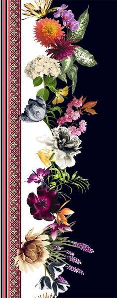Alto Inverno textile design from Adriana Barra, Brazil, 2013