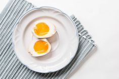 3 easy steps & 5 mins prep to make this divine Japanese ramen egg. Sweet & savory perfect soft boiled egg with luxurious soft-set yolk and just-set white.