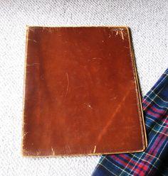 Leather Art Portfolio Case
