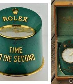 The rare Rolex hoof clock