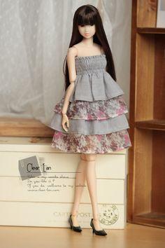 Понятно, лан | платья для кукол | Момоко одежда | Ниппон Мисаки одежда| Блайт одежда| Лати-желтый одежда| одежда куклы