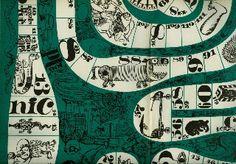 Plachetka Jiří,  Medvěd medvědu medvědem. Enclosed orig. folding board game.  Svet sovetu, Praha,  1967. Illustrations by Vaclav Kabat.  Cover and interior design by Milan Kopriva.