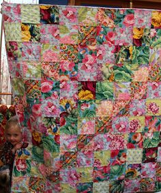 Fern is staying the weekend with us, and tonight I finished sewing her quilt. A daytime photo would have been nice, but bedtime calls. Rag Quilt, Scrappy Quilts, Baby Quilts, Quilting Projects, Quilting Designs, Watercolor Quilt, Flower Quilts, Square Quilt, Quilt Making