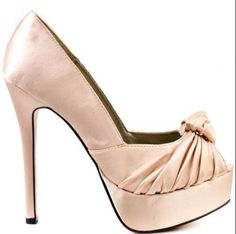 102d9cbb9cd0b7 Heels Shoes Sandals Spring Summer 2012 Heels I Love heels summer high heels  color love shoes Sure Thing Nude Satin Luichiny 5010